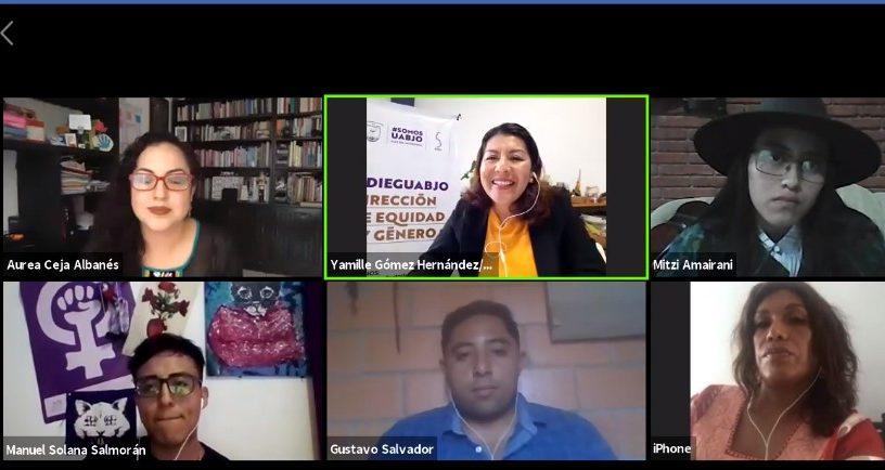 Conversatorio virtual sobre diversidad sexual en la UABJO