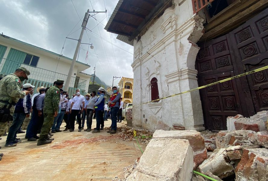 En emergencia 15 municipios más, y en desastre 157 por sismo en Oaxaca