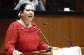 Morena expulsa a senadora de Baja California, Alejandra León Gastélum