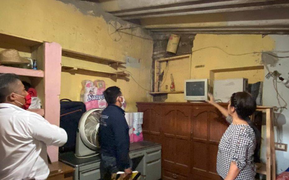 Concluye Ayuntamiento de Oaxaca verificación de daños en viviendas por sismo del 23 de junio