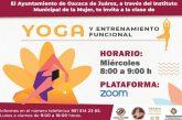 Ofrece Ayuntamiento de Oaxaca de Juárez clases de yoga en línea para mujeres