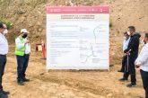Murat supervisó el inicio de los trabajos en el tramo II de la carretera Barranca Larga – Ventanilla