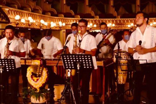 Marimba del Estado de Oaxaca, tradición desde 1948