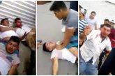 '¡Pónganse a trabajar!' Así golpean a tres ladrones en Cuautitlán