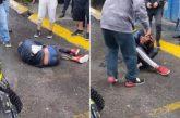 Ladrón llora cuando vecinos lo golpean en Cuautitlán Izcalli