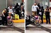 Suspenden a policía que 'sembró' droga a repartidor en Veracruz