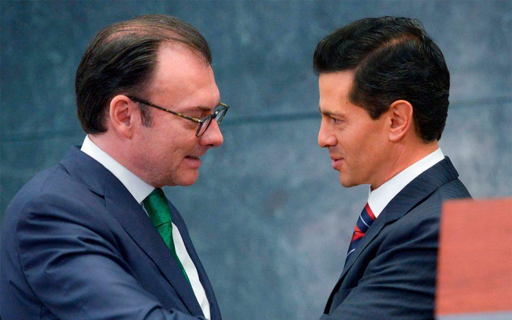 «Peña Nieto y Videgaray ordenaron sobornos de Odebrecht», denuncia Lozoya ante FGR