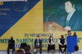 La UABJO conmemoró un aniversario más del fallecimiento del maestro Nahúm Carreño