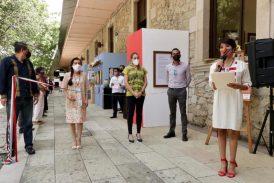 """Inauguran exposición pictórica y de artes aplicadas """"Fiestas Mexicanas"""" en la Hemeroteca Pública"""