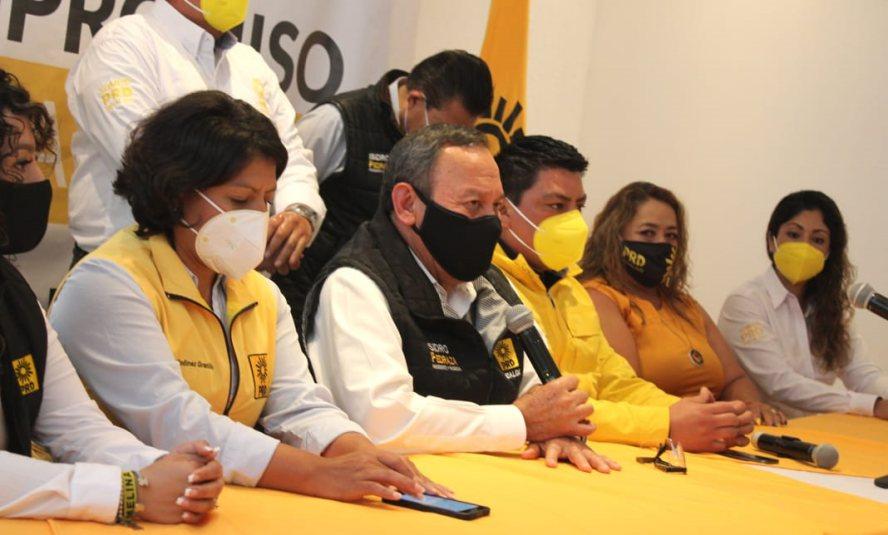 PRD no permitirá que mapaches de Morena coopten votos a su favor: Jesús Zambrano