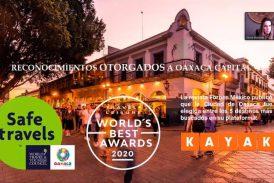 Oaxaca de Juárez se consolida como el mejor destino turístico de México