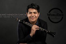 Emiliano Mendoza, clarinetista zapoteca con nombramiento de