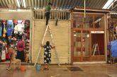 Ayuntamiento de Oaxaca y concesionarios limpian y desinfectan el Mercado de Artesanías