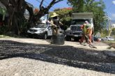Sigue mejorando Ayuntamiento calles de la capital con programa emergente de bacheo
