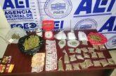 Realiza Fiscalía de Oaxaca otro cateo en el Istmo; se asegura droga, dinero y se detienen a dos personas