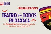 """Seculta da a conocer los resultados de la convocatoria """"Teatro para Todos en Oaxaca"""""""