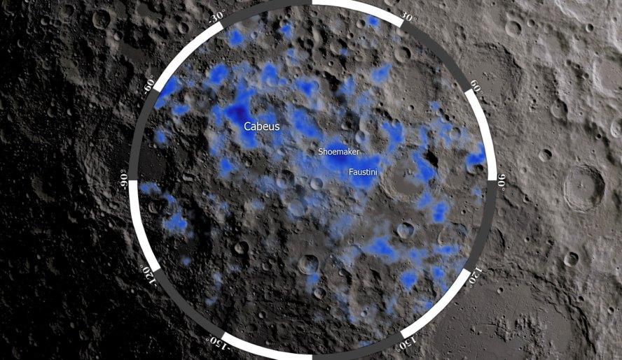 NASA anuncia descubrimiento de agua en la Luna
