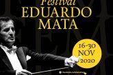 "Este 30 de noviembre, concluye el Festival ""Eduardo Mata"""