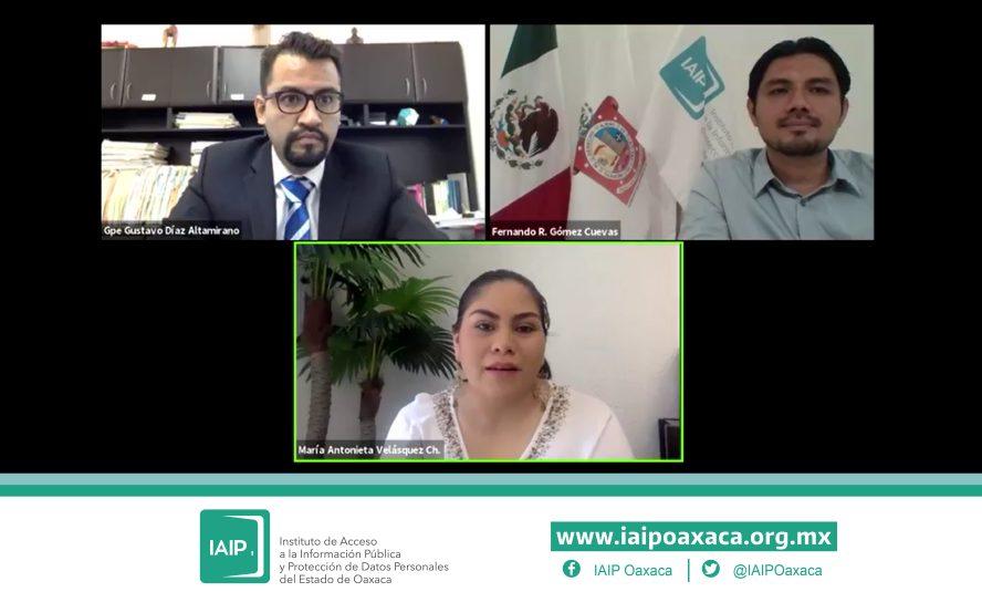 Ordena IAIPO a instituciones públicas entregar información