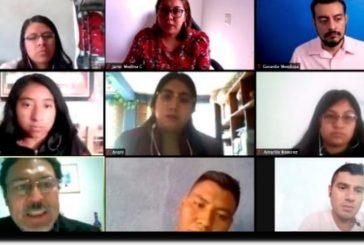 Imparte IEEPO taller sobre fomento a la lectura a Escuela Normal Experimental de Teposcolula