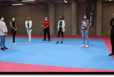 Taekwondoínes oaxaqueños Sub-20 se encuentran listos previo a su participación en el Preselectivo Nacional