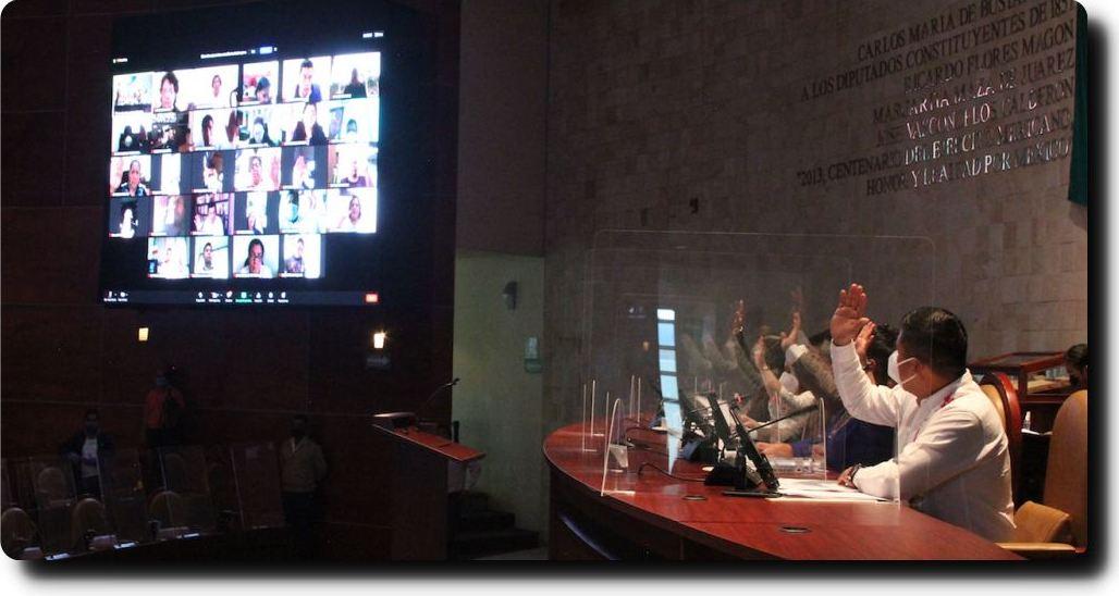 Aprueba Congreso de Oaxaca Leyes de Ingresos municipales