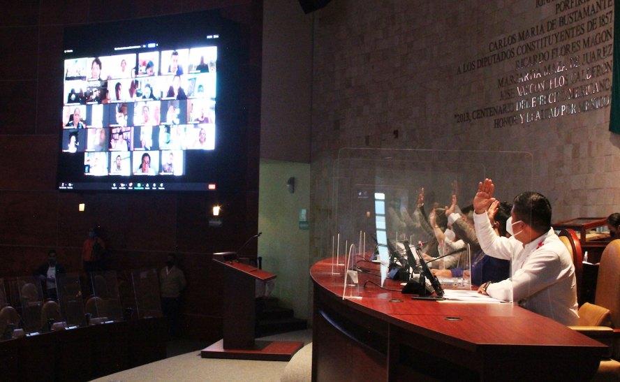 Respalda Congreso de Oaxaca reformas federales en materia de nacionalidad, de fuero y en el Poder Judicial