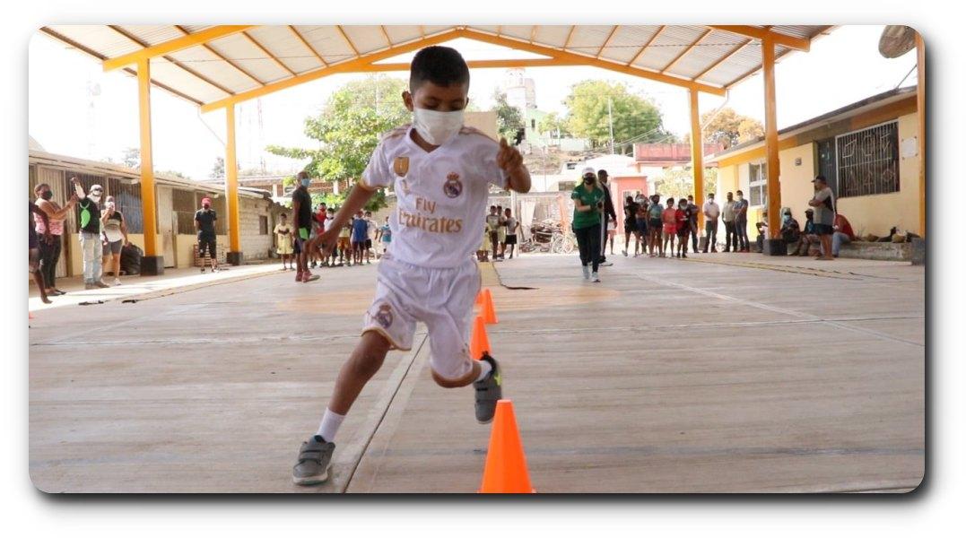 Presencia continua del Incude en Collantes para fortalecer la actividad física de la población