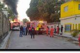 Se incendia autobús de pasajeros en Salina Cruz, Oaxaca