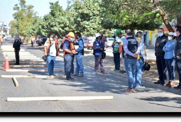 Inicia construcción de paradas especiales del CityBus Oaxaca