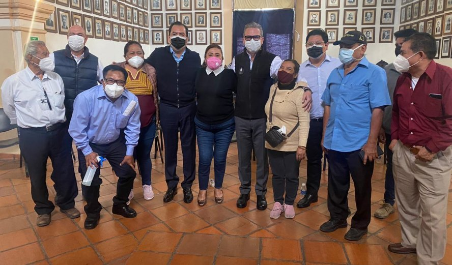Se refuerzan las acciones de prevención en los mercados de Oaxaca por contingencia sanitaria