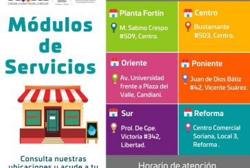 Bajo estrictas medidas sanitarias, continúa SAPAO atención a usuarios en módulos de servicios