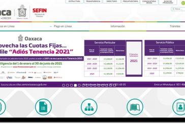 Exhorta Sefin a la ciudadanía a revisar los sitios oficialesantes de realizar trámites en línea