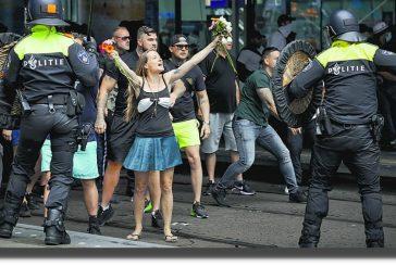 Países Bajos vive tercera noche de disturbios por toque de queda y confinamiento