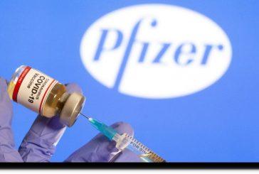 Reino Unido estudiará 'cuidadosamente' grado de protección de la vacuna de Pfizer