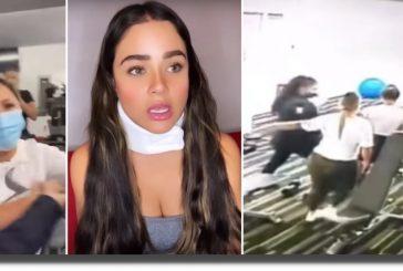 Mujeres golpean a actriz de Rosario Tijeras por pedirles que usen cubrebocas