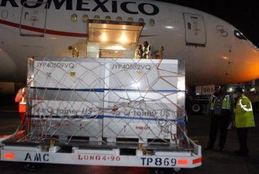 Llega a México sustancia activa de vacuna COVID-19 de AstraZeneca