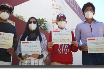 Estudiantes de la UABJO, obtuvieron reconocimiento a mejor presentación en Congreso Nacional