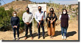 Entrega Ayuntamiento de Oaxaca construcción de drenaje sanitario en Guadalupe Victoria