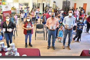 Trabaja Ayuntamiento de Oaxaca en favor de la niñez vulnerable de San Martín Mexicapam