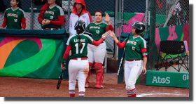 Selecciones de softbol de México y Estados Unidos se enfrentarán en marzo