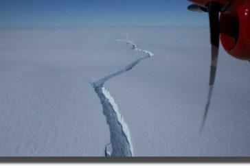 Se desprende de la Antártida un iceberg con una superficie mayor a Nueva York