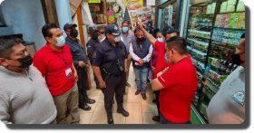 Refuerza Ayuntamiento de Oaxaca vigilancia en Mercado de Abasto en coordinación con comerciantes