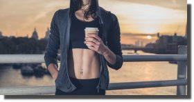 Tomar café antes de entrenar ayuda a quemar grasas