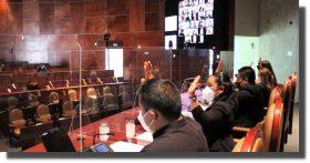 Desde ahora, sesiones del Congreso de Oaxaca se interpretan en el Lenguaje de Señas Mexicanas