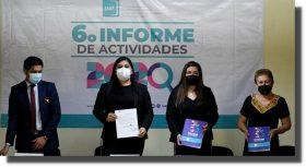 Recibe Congreso de Oaxaca informe anual del IAIP