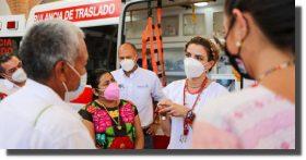 Concluye DIF Oaxaca gira de trabajo por 14 municipios del Istmo de Tehuantepec