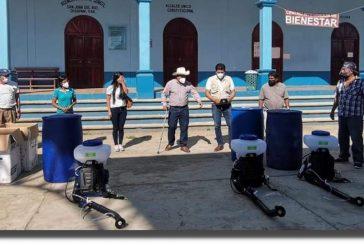 Atienden los SSO brote de COVID en San Juan del Río Choapam