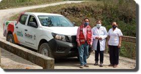 Fortalecen los SSO atención primaria a la Salud con entrega de vehículos