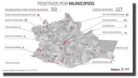 Oaxaca acumula 40 mil 329 casos y 2 mil 887 fallecimientos por covid